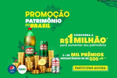 Promoção Guaraná Patrimônio do Brasil