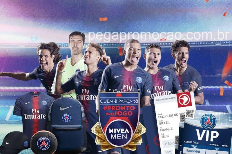 Promoção Nivea Men Neymar e PSG - Pronto Pro Jogo