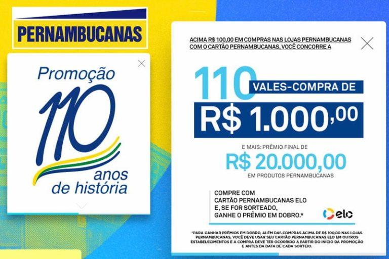 Promoção Lojas Pernambucanas 2018