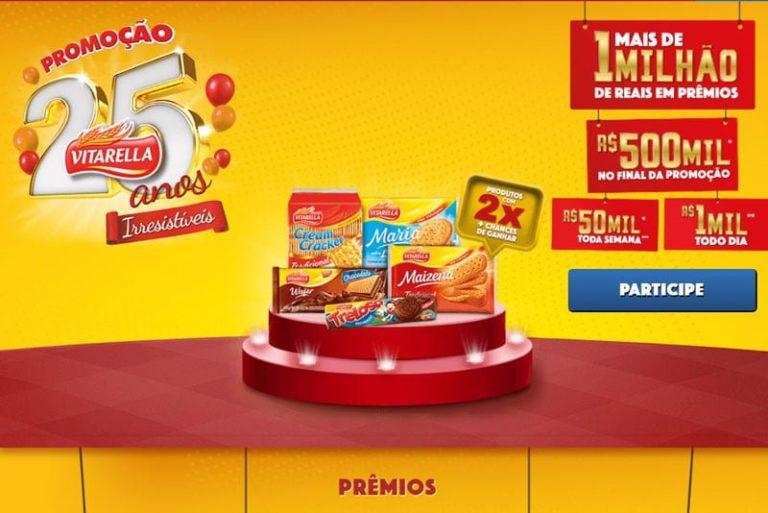 Promoção Vitarella 235 anos - 1 milhão de reais em prêmios