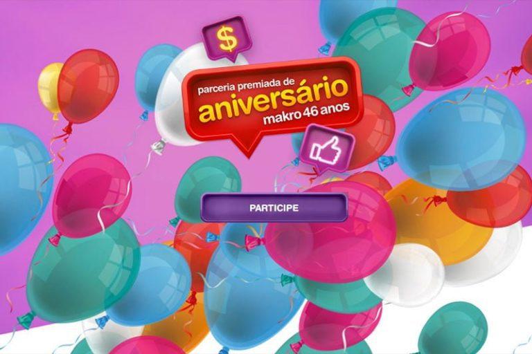Promoção Macro Aniversário 46 anos Parceria Premiada