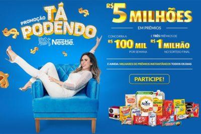 Promoção Nestlé Tá Podendo