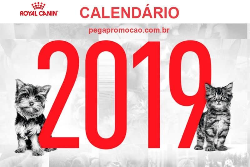 Promoção Royal Canan Calendário 2019