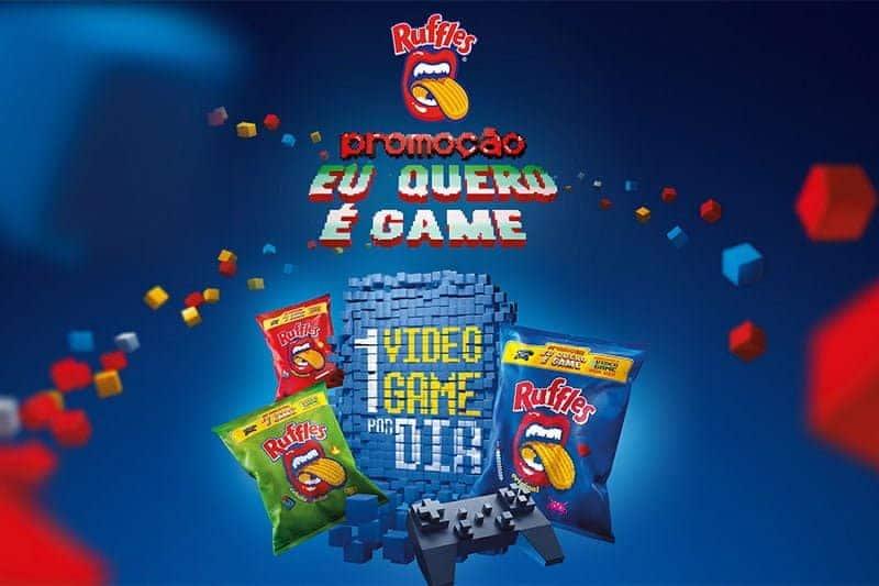 Promoção Ruffles 2018 o que eu quero é Game!
