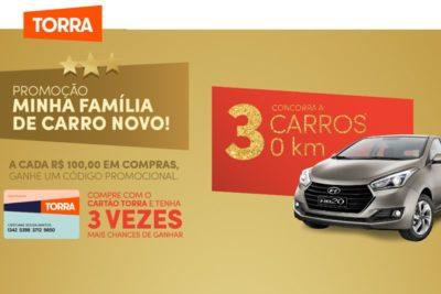Promoção de Natal Torra Torra Casa Ruiz 2018 - 4 Carros Zero