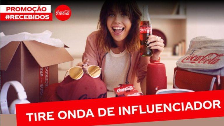 Promoção Coca-Cola 2019 #recebidos prêmios de 100 mil