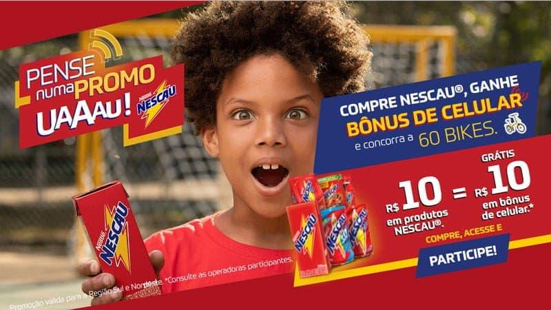 Promoção Nescau 2019 uau!