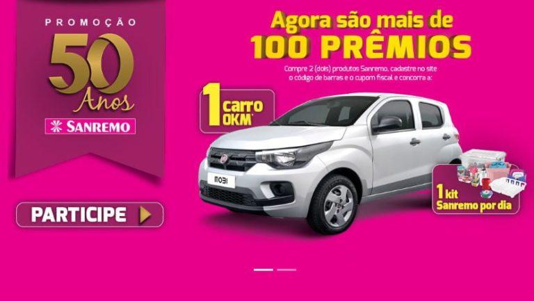 Promoção Sanremo 50 anos