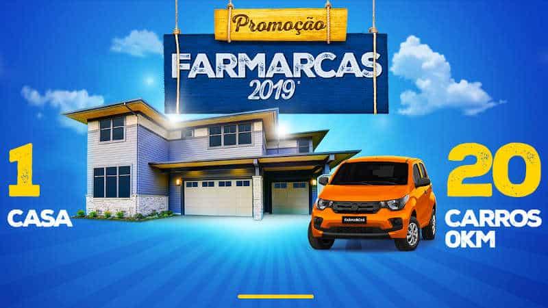 Promoção Farmarcas 2019: Concorra a uma casa e a 20 carros zero