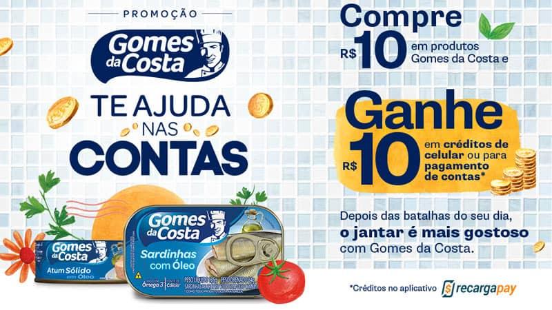 Promoção Gomes da Costa te ajuda nas contas 2020