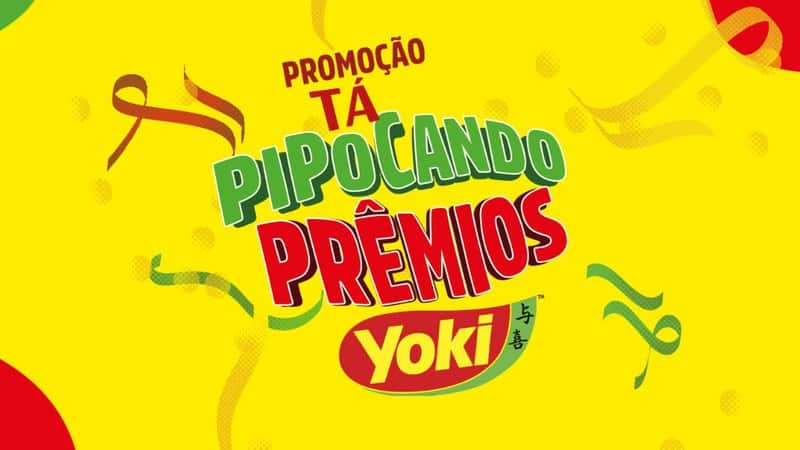 Promoção YOKI 2020 Tá Pipocando Prêmios