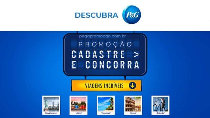 Promoção Descubra P&G 2020 - Cadastro Premiado