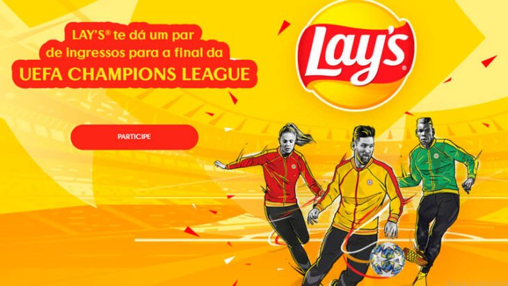 Promoção Lay's 2020 - Champions League