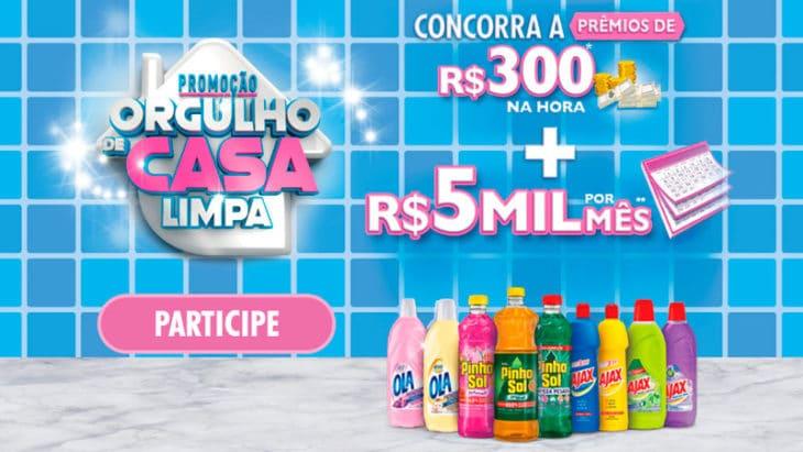 Promoção Orgulho de Casa Limpa Pinho, Ajax e Ola