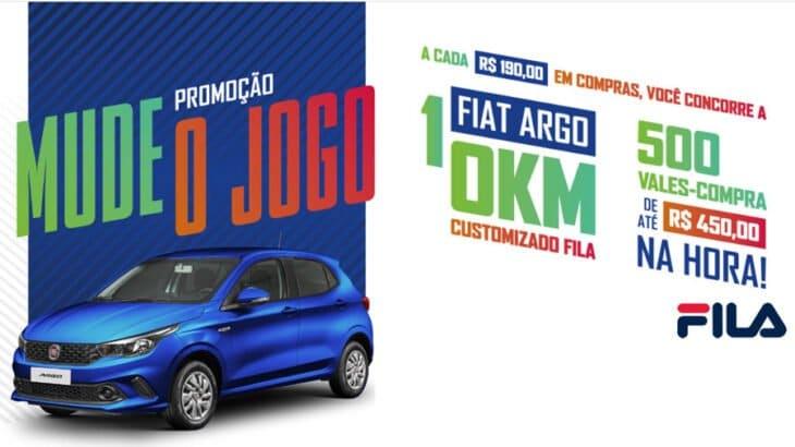 Promoção Fila Mude o Jogo 2020: Concorra a um carro Zero