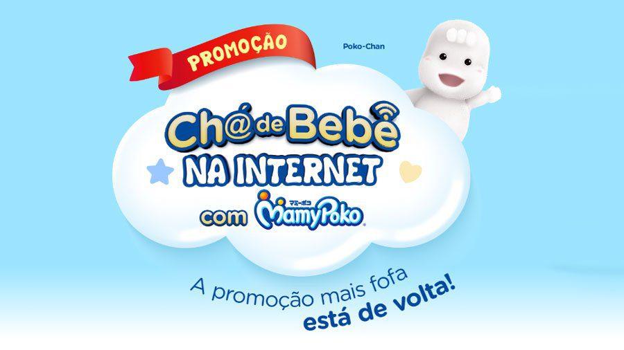 Promoção seu Chá de Bebê na Internet com MamyPoko