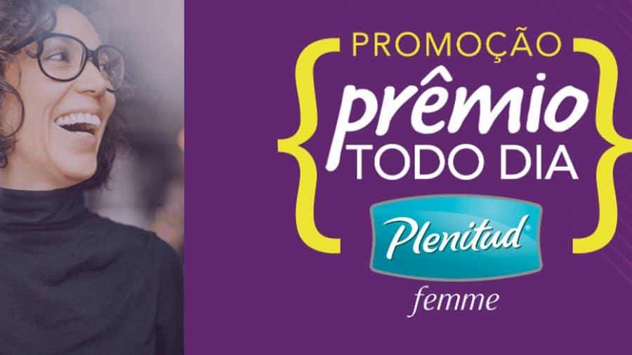 Promoção Prêmio todo dia Plenitud Femme