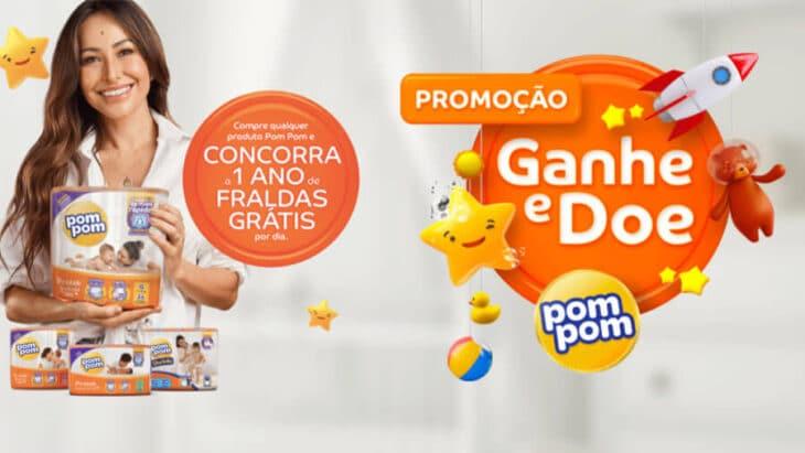 Promoção Promoção PomPom Sabrina Sato: Um ano de fraldas