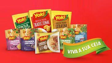 Produtos Participantes Promoção Yoki