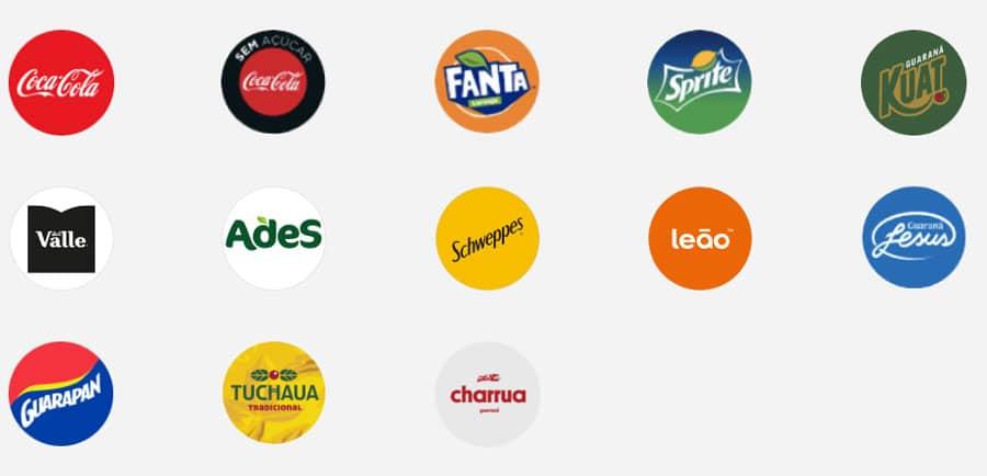 Marcas Participantes Promoção Presente Coca-Cola