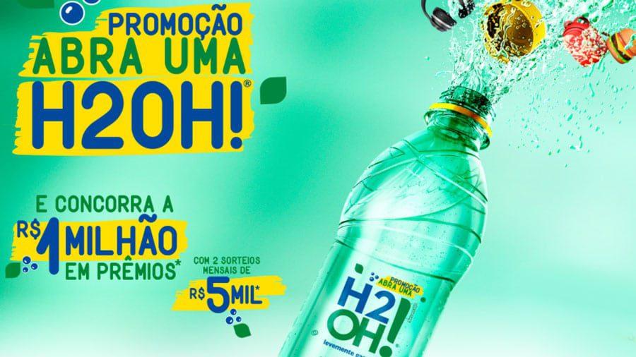 Promoção Abra Uma H2OH! Mais de um milhão em prêmios