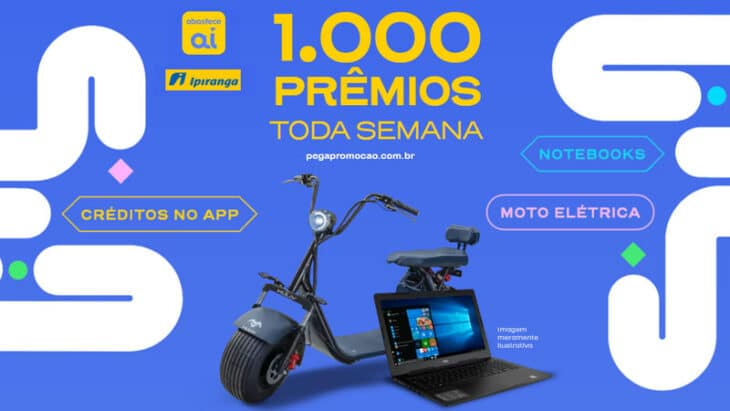 Promoção Ipiranga 1000 prêmios toda semana