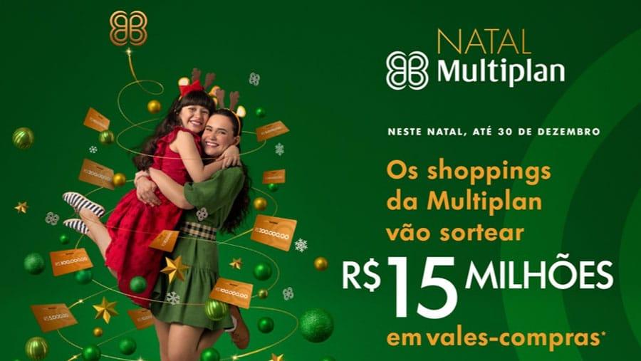 Promoção de Natal Shoppings Multiplan: 15 milhões em prêmios