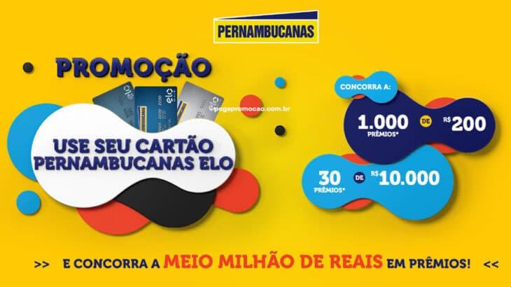 Promoção Use Pernambucanas Elo: mais de 1000 prêmios de até R$10.000