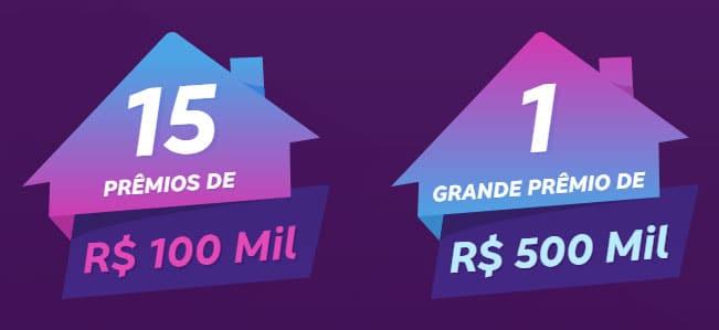 Prêmios da promoção Cartão Bradesco 2021