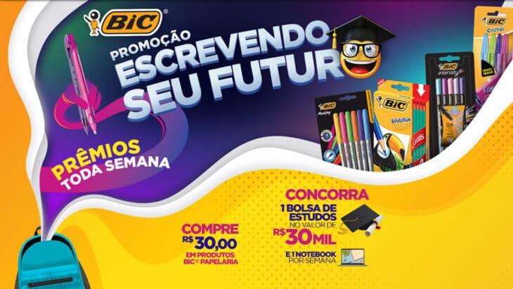 Promoção Bic 2021 Escrevendo seu Futuro