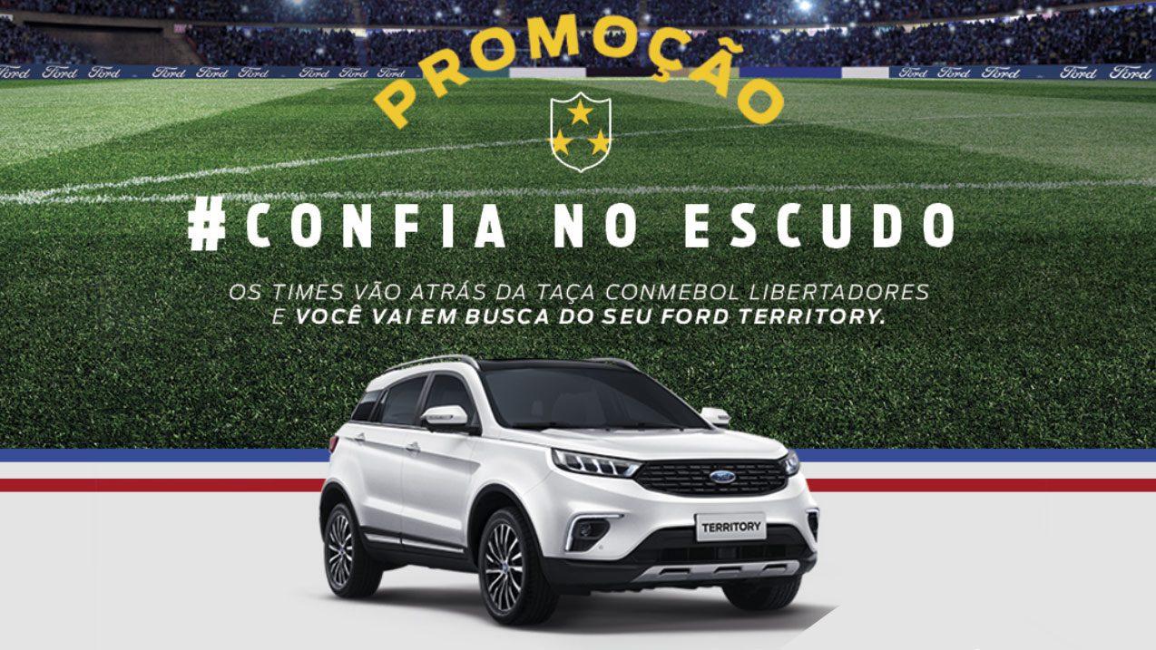 Promoção Ford Libertadores da América: Confia no Escudo