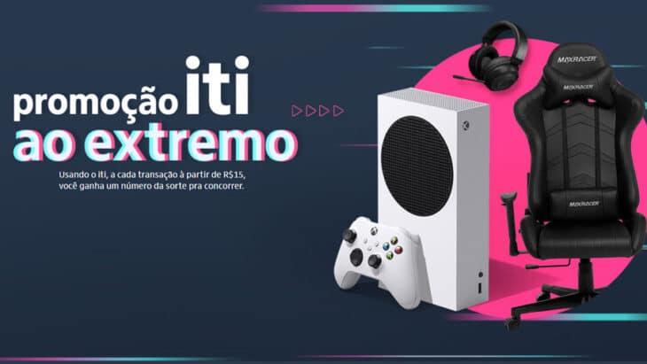 Promoção Iti ao Extremo: Concorra a 30 Xbox Series S