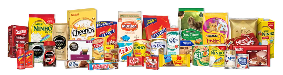 Produtos participantes da promoção Nestlé 100 anos