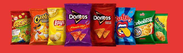 Produtos participantes Promoção Elma Chips