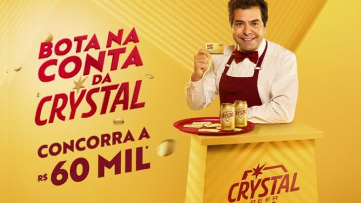 Promoção Bota na Conta Cerveja Crystal