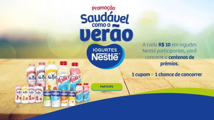 Promoção Iogurtes Nestlé Saudável Como o Verão