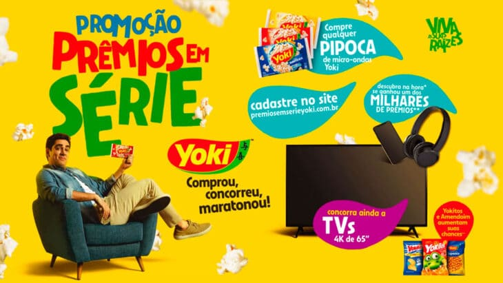 Promoção Yoki Prêmios em Série