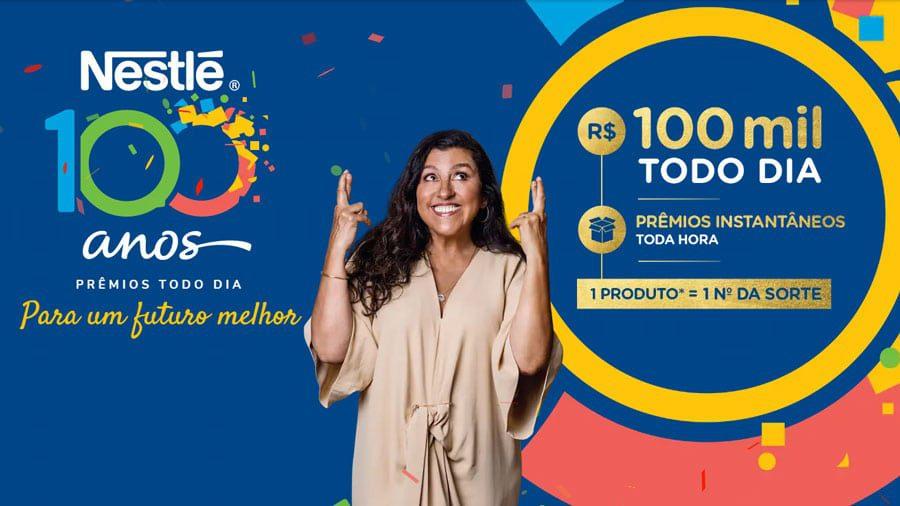 Promoção Nestle 100 anos