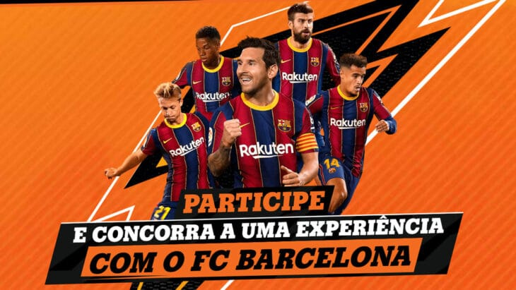 Promoção Gatorade Experiência com o Barcelona