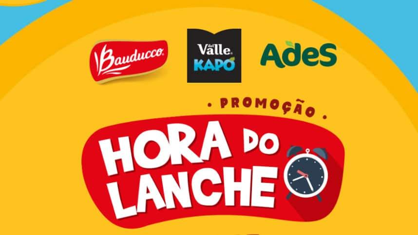 Promoção Hora do Lanche com Bauduco Del Valle e Ades
