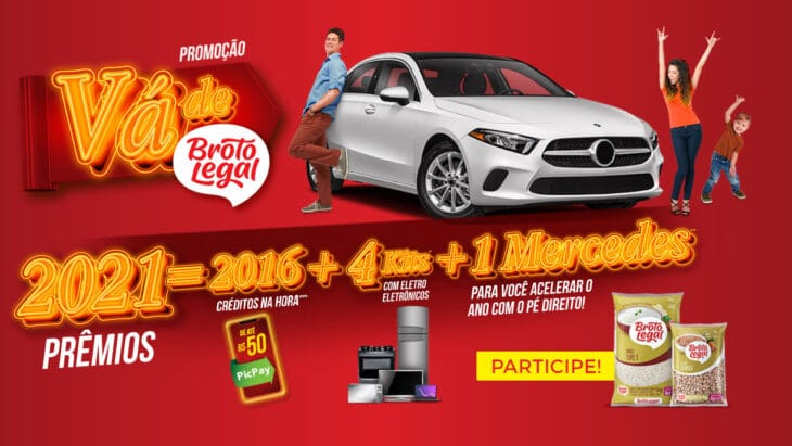 Promoção Broto Legal 2021 - Vai de Broto Legal