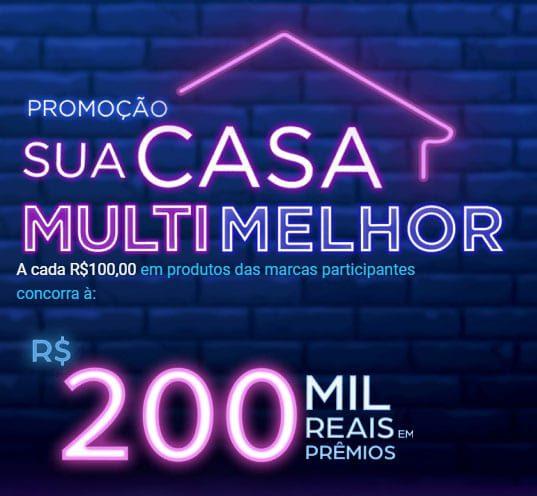 Prêmios da promoção Multilaser