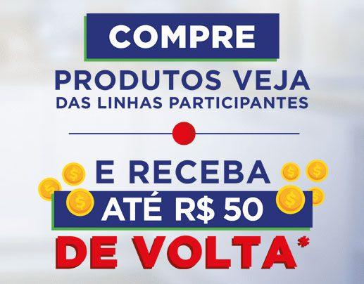 Receba 50 reais Promoção Veja