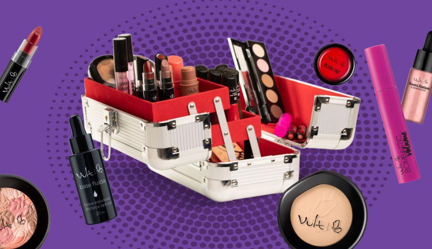 Maleta de maquiagem Promoção Vult