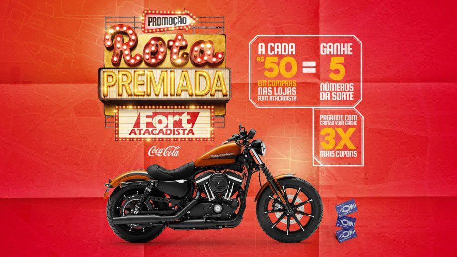 Promoção Fort Atacadista e Coca-Cola Rota Premiada 2021