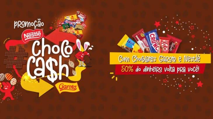 Promoção Choco Cash Nestlé e Garoto