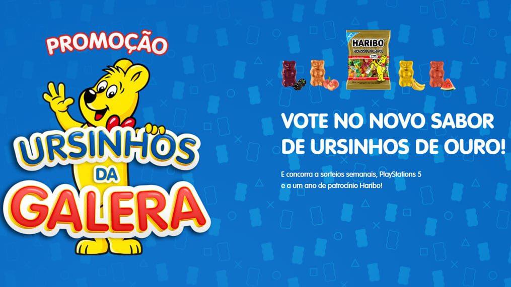 Promoção Haribo Ursinhos da Sorte - Concorra a 3 Play Station 5