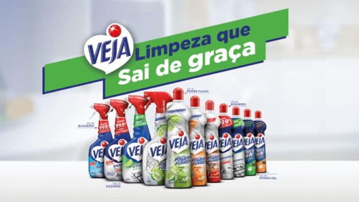 Promoção Veja Limpeza que Sai de Graça