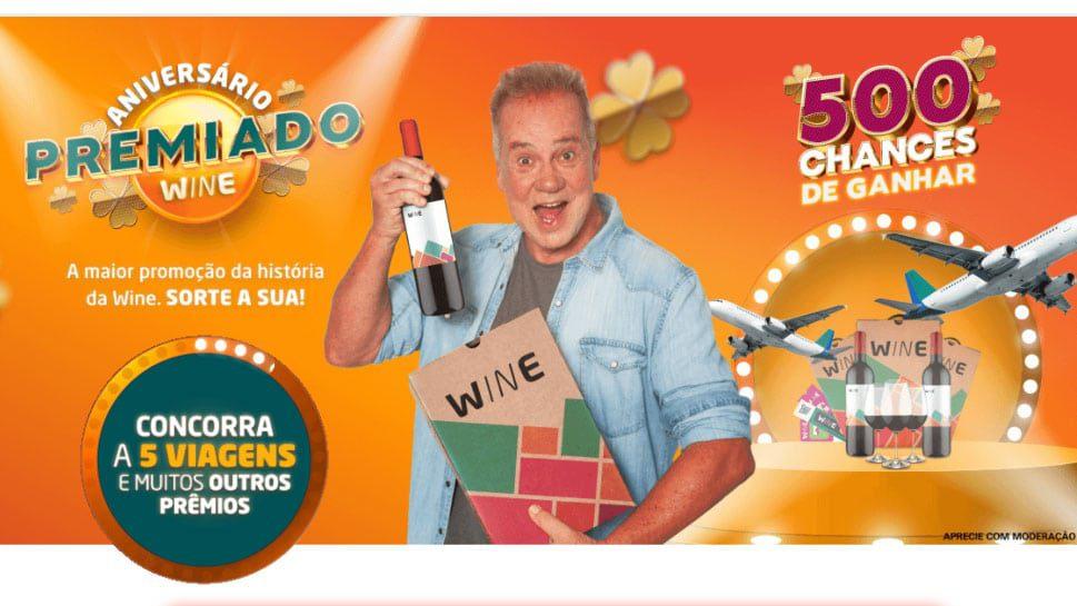 Promoção Wine Aniversário Premiado 2021