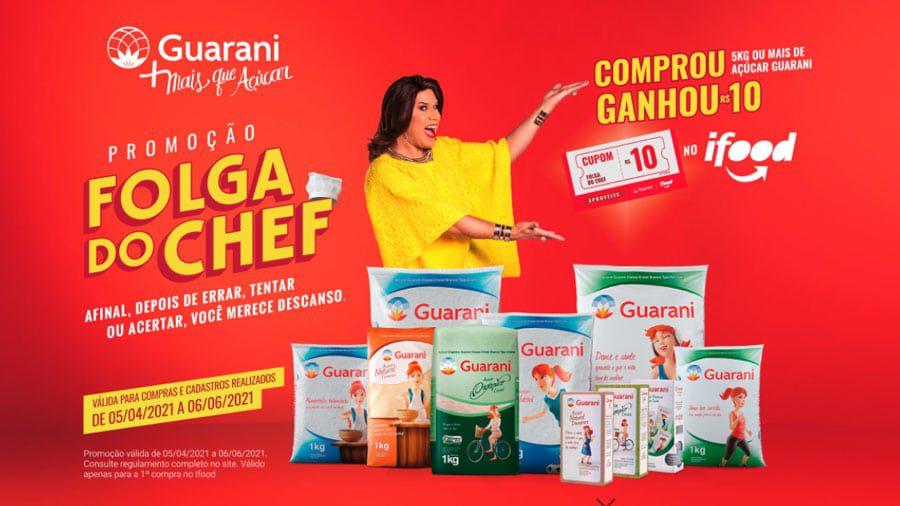 Promoção Açúcar Guarani 2021 receba R$10 no Ifood